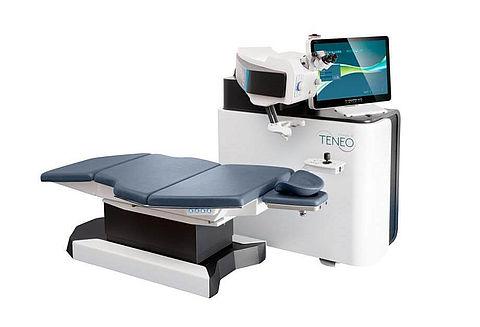 Ténép 317 : équipement pour opération des yeux au laser